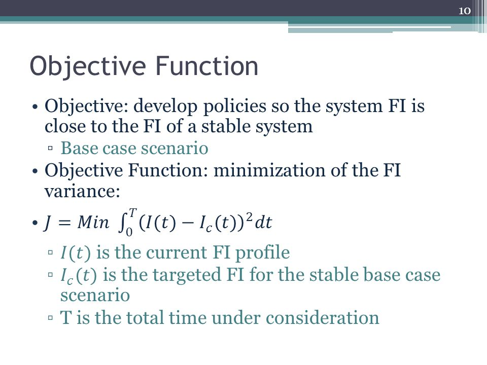 Objective Function 10