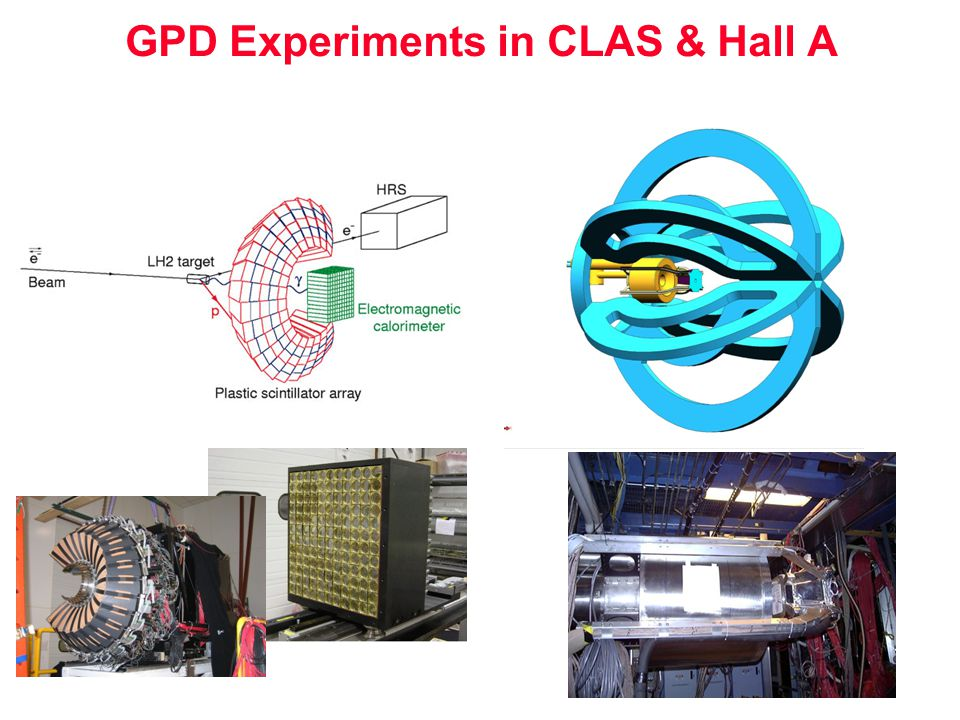 GPD Experiments in CLAS & Hall A