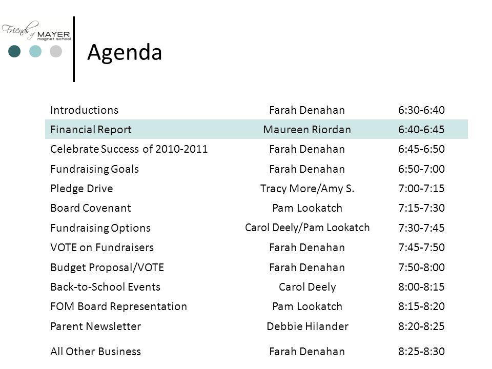 4 2010-2011 Financial Reporting Maureen Riordan