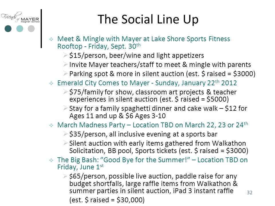 The Social Line Up  Meet & Mingle with Mayer at Lake Shore Sports Fitness Rooftop - Friday, Sept.