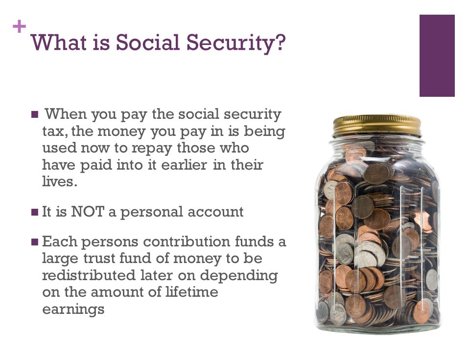 + Solutions to the Social Security Issue This means paying the younger workers their benefits as soon as their earned.