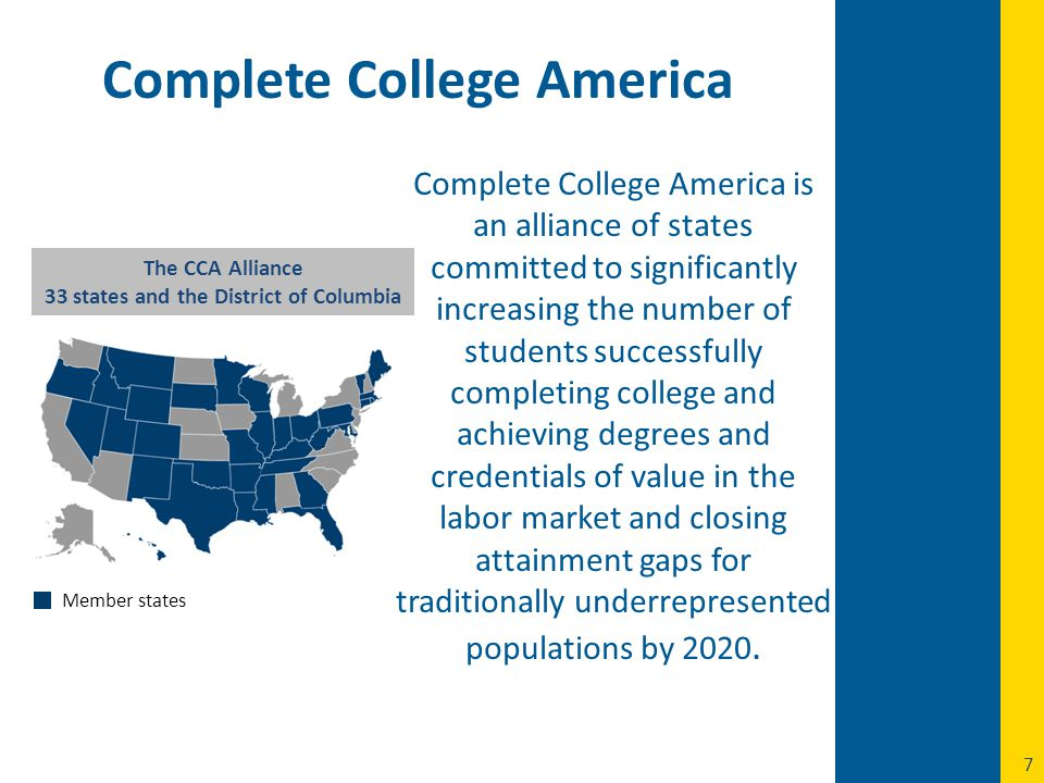 NSHE's Campaign to Create a Culture of Completion Complete College America Strategic Directions  120 / 60 credit policy  Low Yield Program Policy  Excess Credit Policy New Funding Formula Performance Pool Access and Affordability 15 to Finish Campaign A shift in focus from enrolling to graduating students...