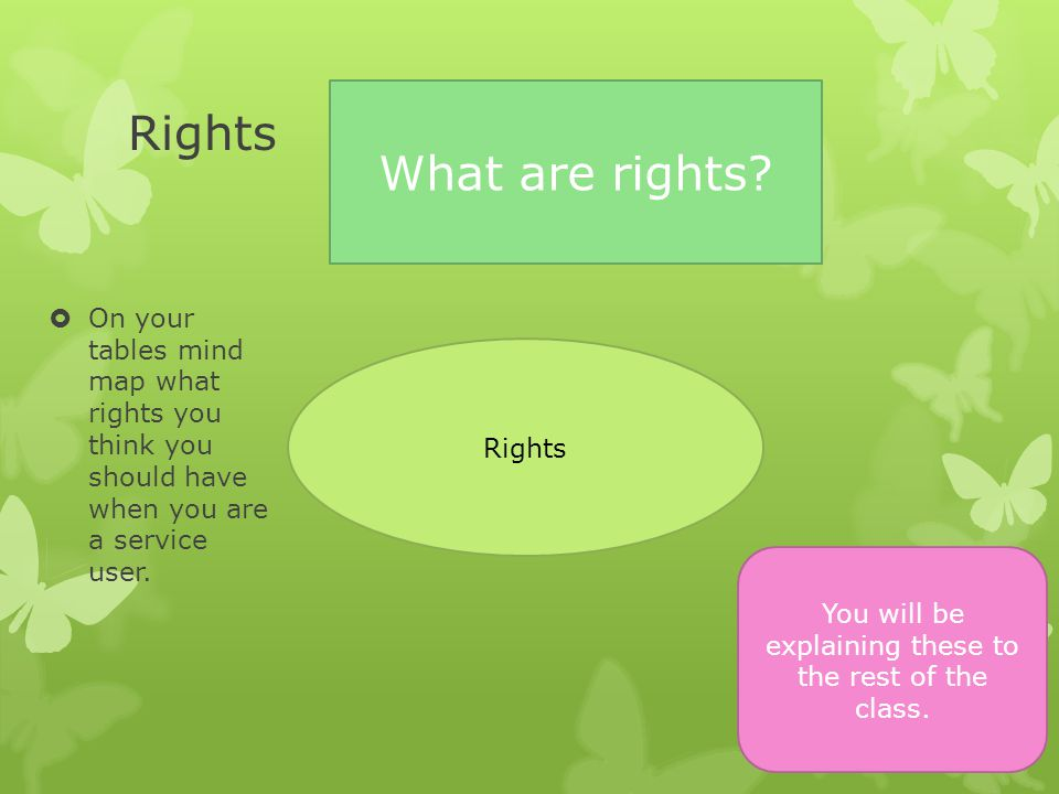 Choice  What should service users be able to choose.