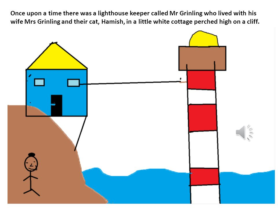 The Lighthouse Keeper's Lunch By :Hanami Year 2s