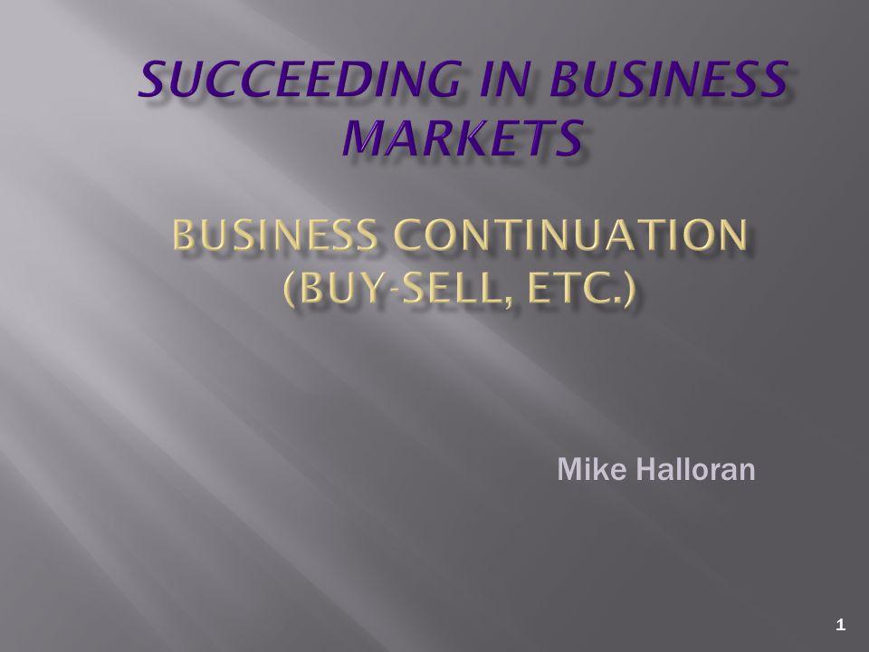 1 Mike Halloran