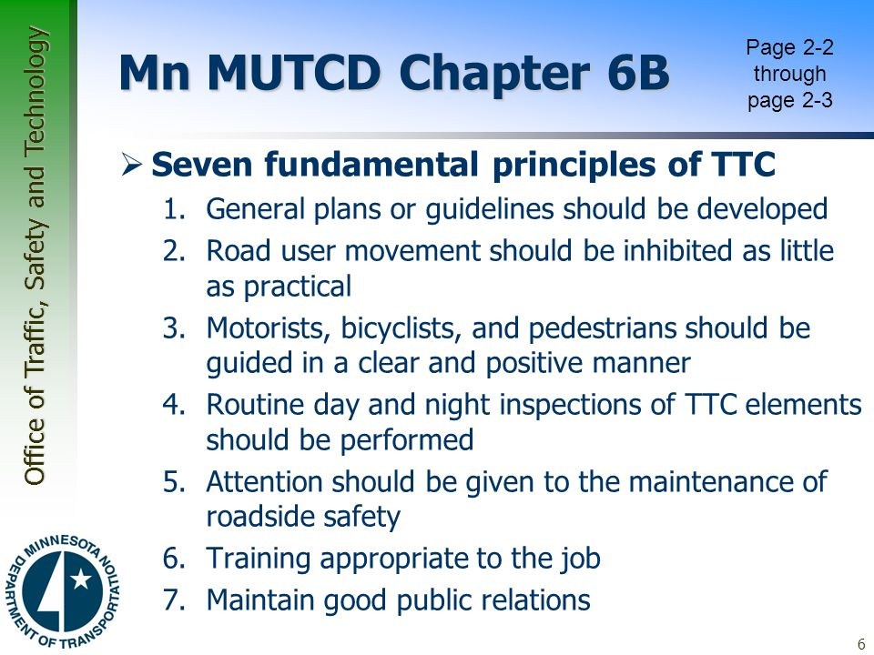 Office of Traffic, Safety and Technology Work Zone Safety Mobility Tech Memo  Addressed in Three Levels –2.