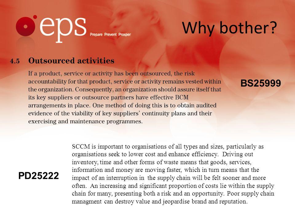 BCM Strategies & Response Partnering arrangements Visit exercises.