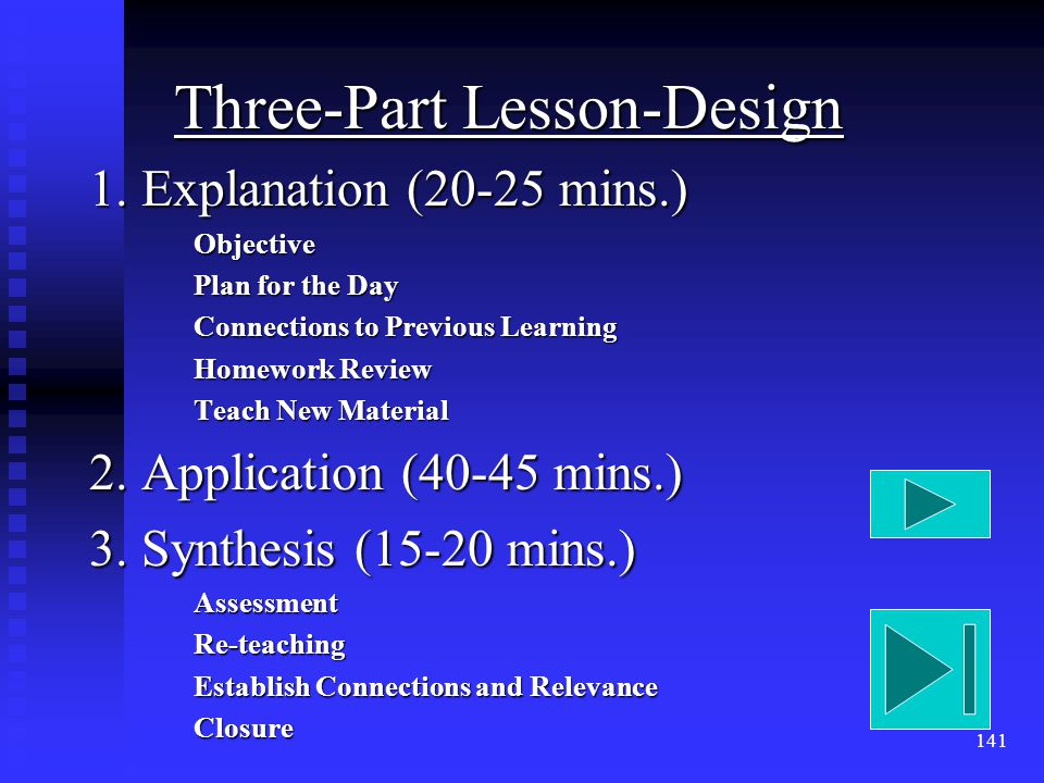 141 Three-Part Lesson-Design 1.