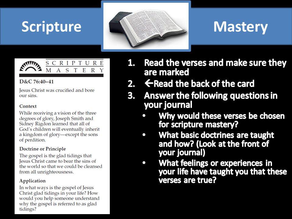 ScriptureMastery
