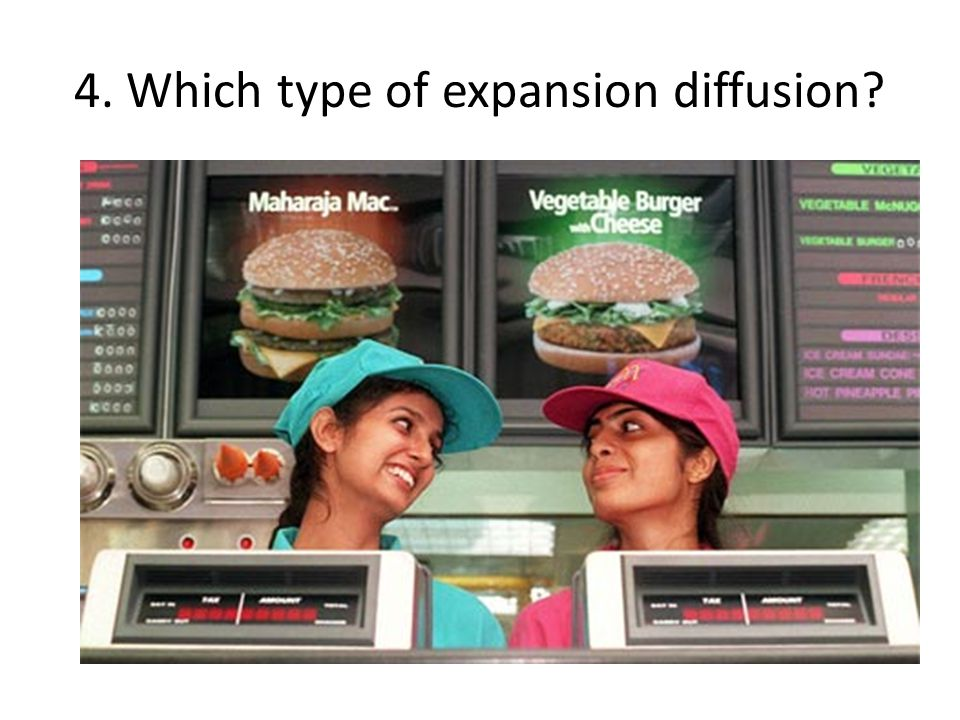 4. Which type of expansion diffusion