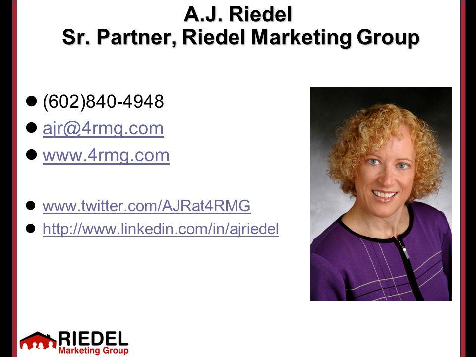 A.J. Riedel Sr.