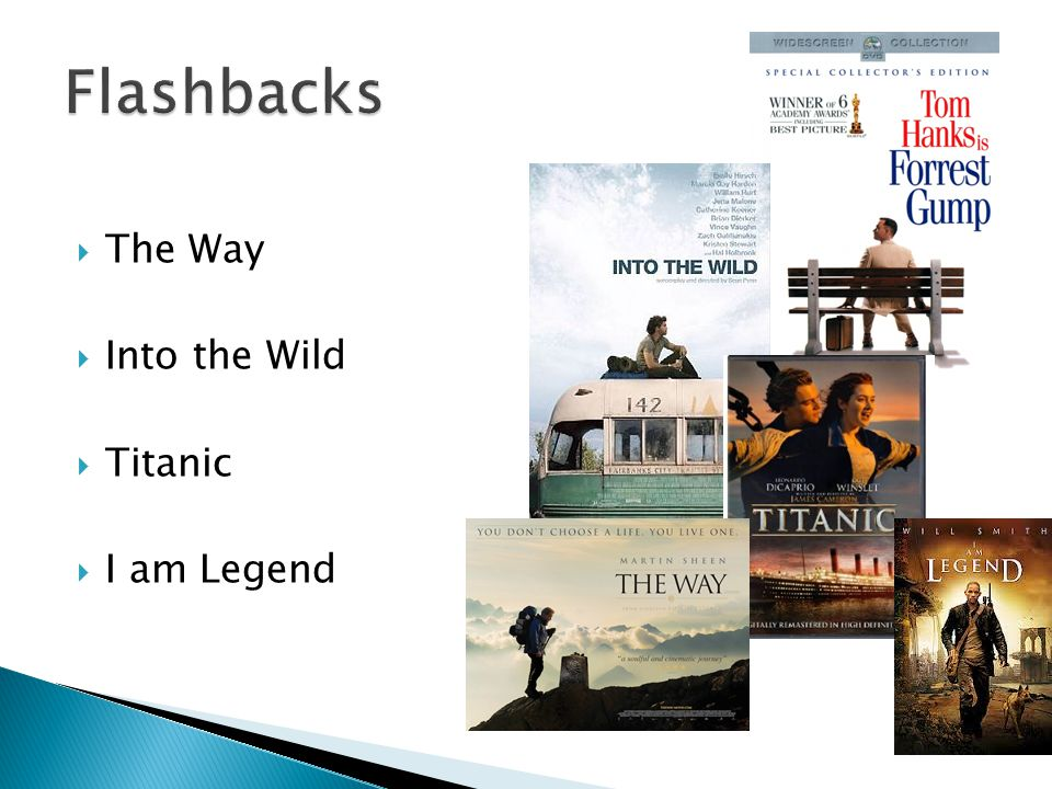  The Way  Into the Wild  Titanic  I am Legend