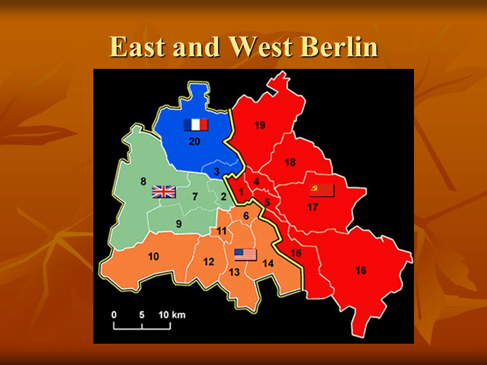 East and West Berlin