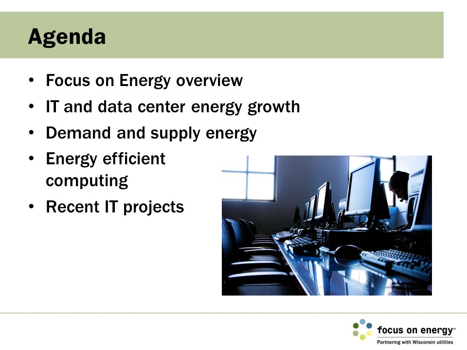What is Focus on Energy.