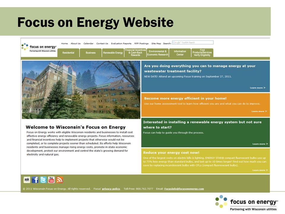 Focus on Energy Website