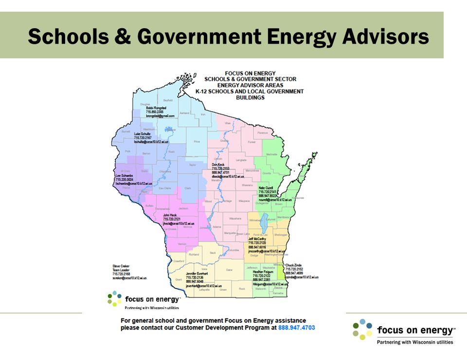 Schools & Government Energy Advisors