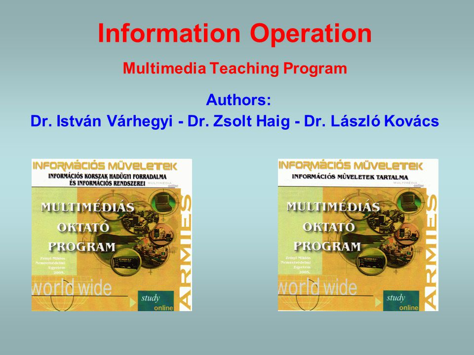 Multimedia curriculums Two examples from ZMNDU