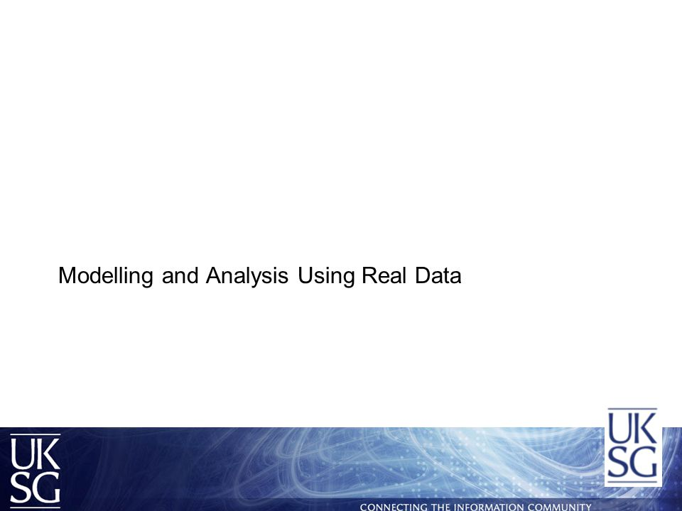  Real journal usage data is currently being analysed by John and Laura Cox  Participating publishers:- –American Chemical Society –Emerald –IOP –Nature Publishing –OUP –Sage –Springer