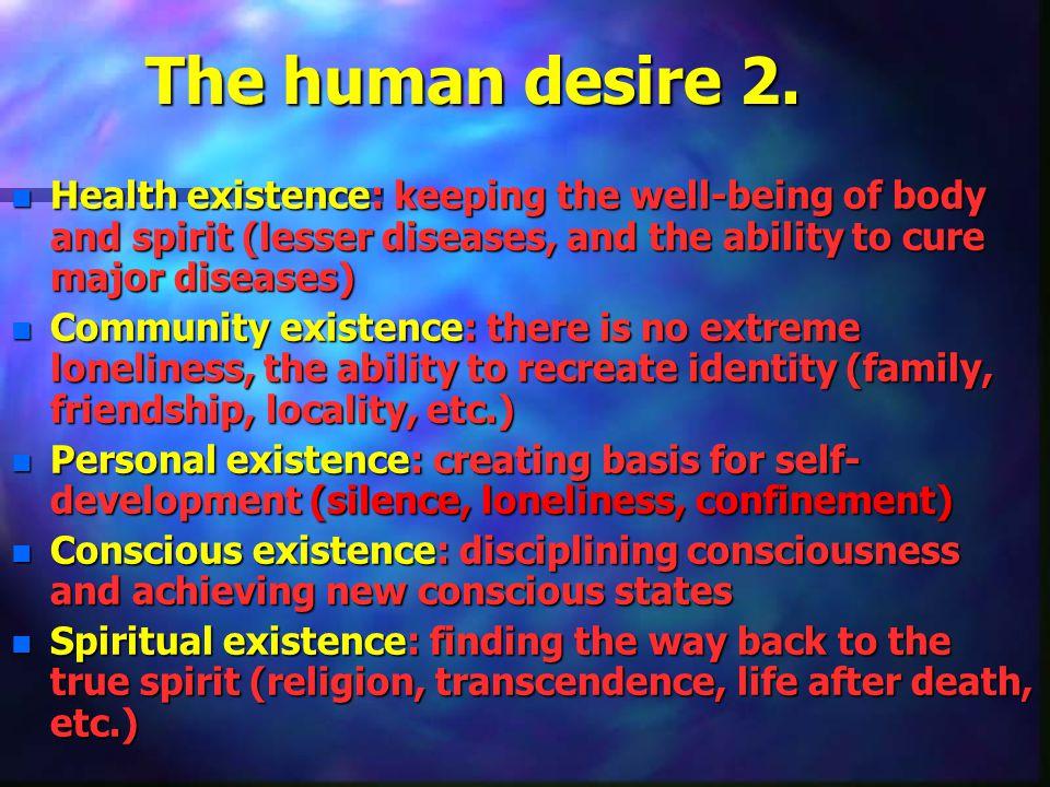 The human desire 2.