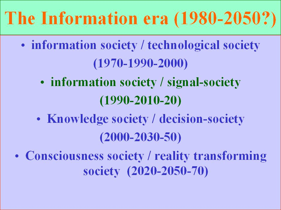 Historical existence (traditional and future existence) n Meeting with Universal traditions n Acquiring ancient knowledge n Re-structuring local traditions n Living according to traditions n Futuristic visions n Creating history re-structuring scenarios n Etc.