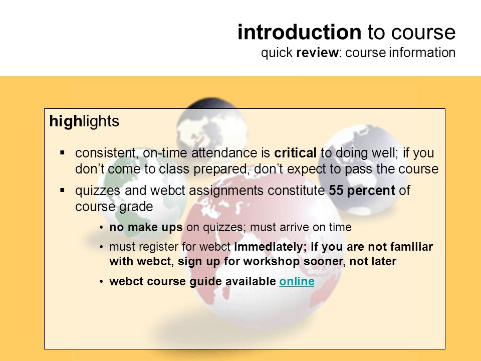 introduction to course quick review: course information highlights  lecture notes (powerpoint slides) typically--but not always-- available on instructional site: professor lim's coursesite url: http://instructional1.calstatela.edu/tclim/  make sure I have your e-mail address; e-mail is the best way to contact me, and e-mail is the primary way I contact you outside of class  grades available online via gradesource.com  questions or concerns.