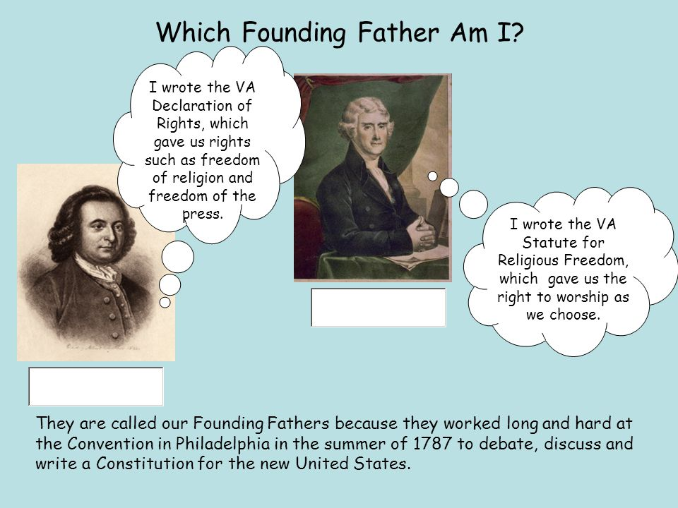 Which Founding Father Am I.