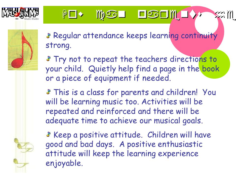 How can parents help Regular attendance keeps learning continuity strong.