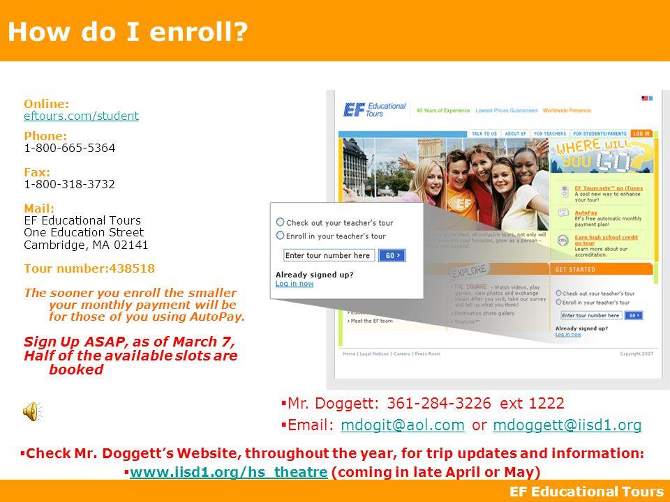 How do I enroll.