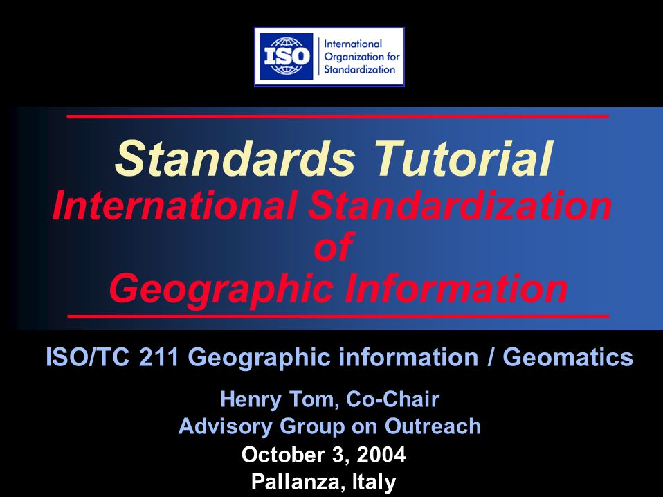 Regional National Global Spatial Data Infrastructures
