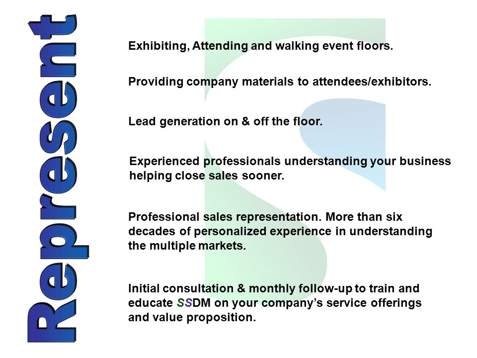 Exhibiting, Attending and walking event floors.