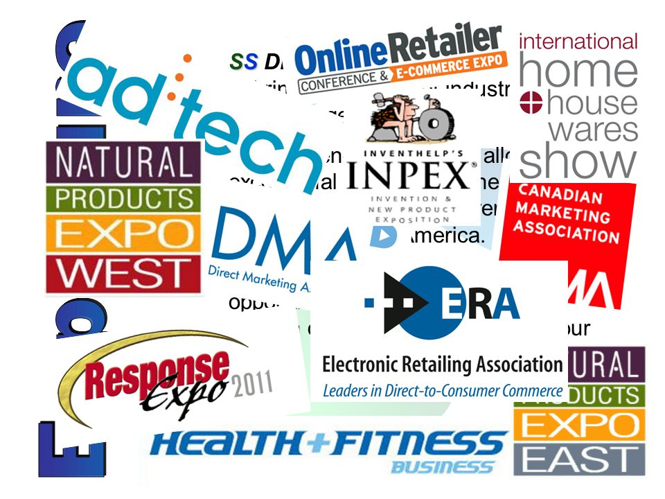 Enhanced awareness at a fraction of the cost of attending and exhibiting as a single company.