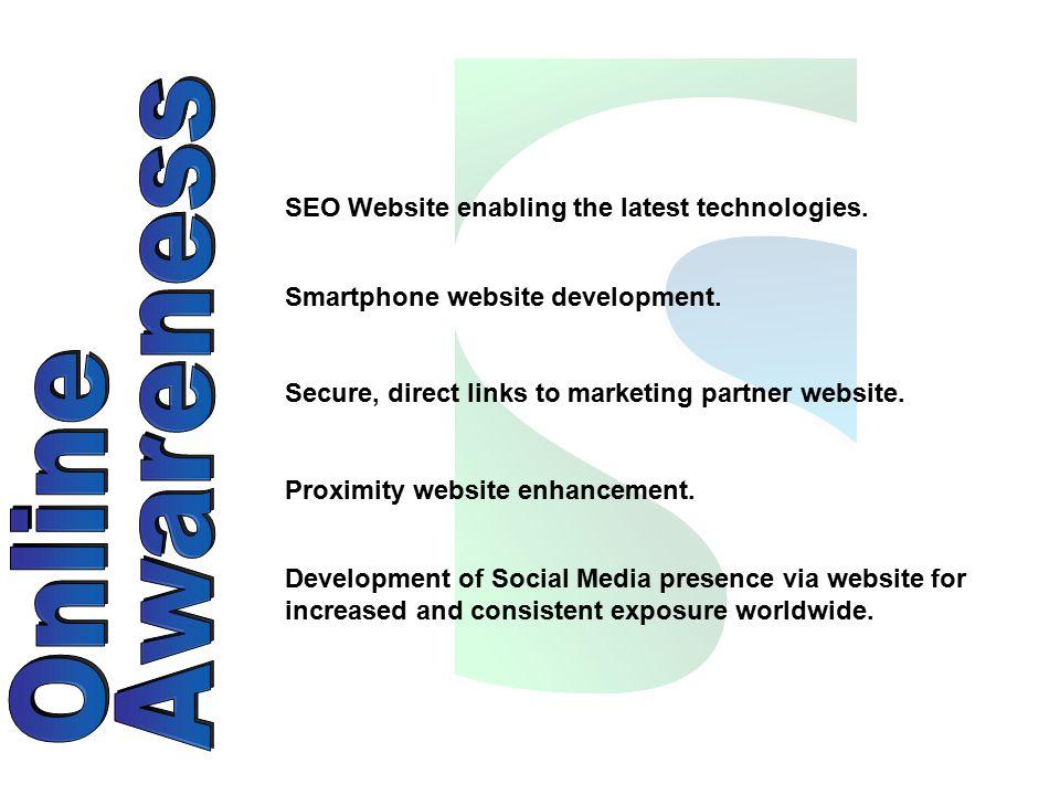 SEO Website enabling the latest technologies. Smartphone website development.