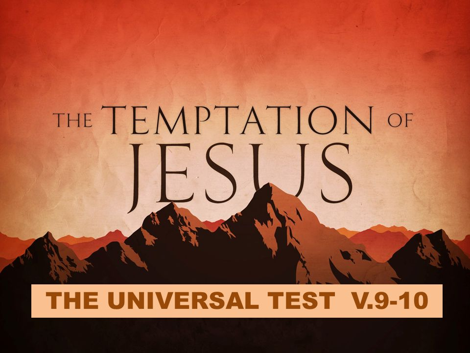 OUR TEMPTATION To Deviate from the path of submission to the will of God.