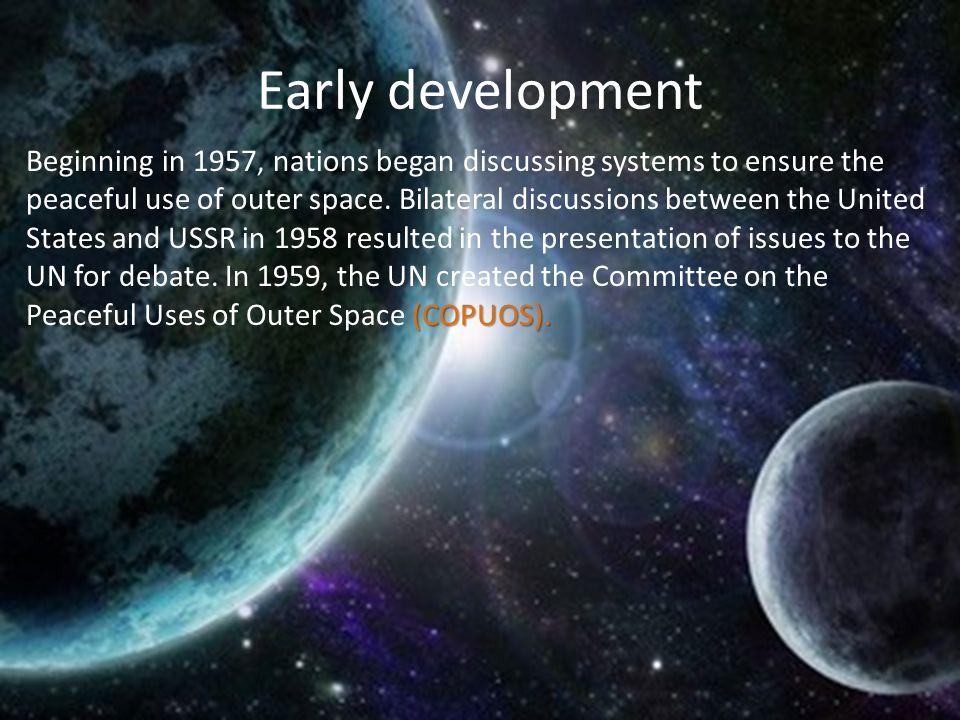Early development (COPUOS).