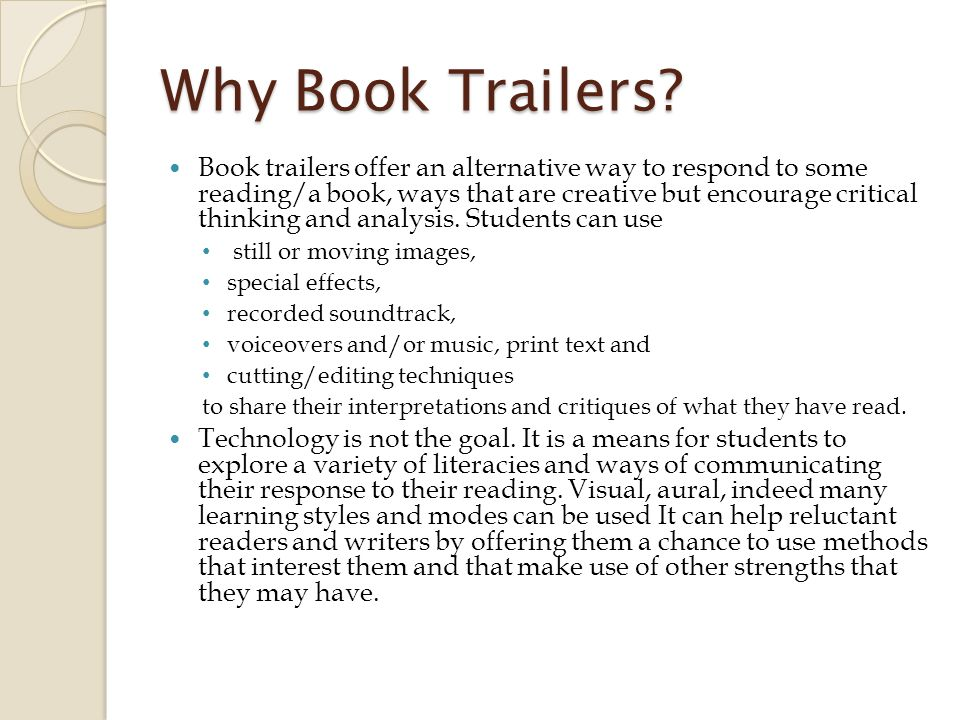Finding book trailers Whilst looking at the some publishers websites I saw a few different book trailers.
