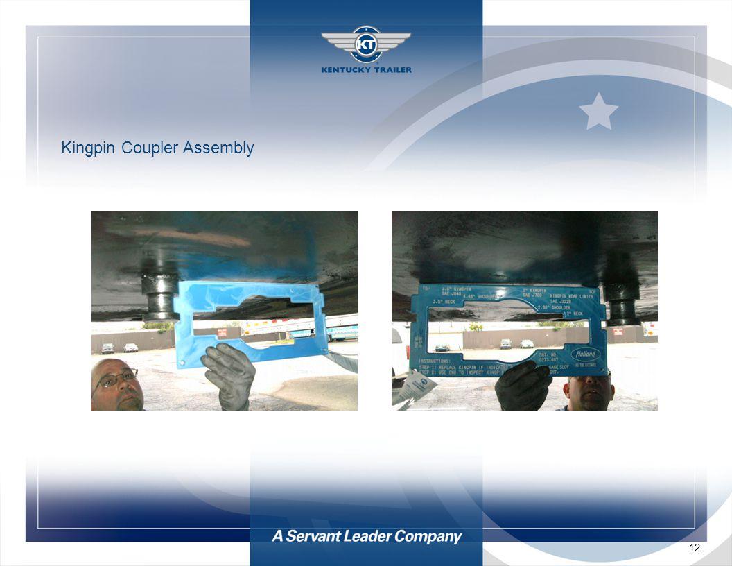 12 Kingpin Coupler Assembly