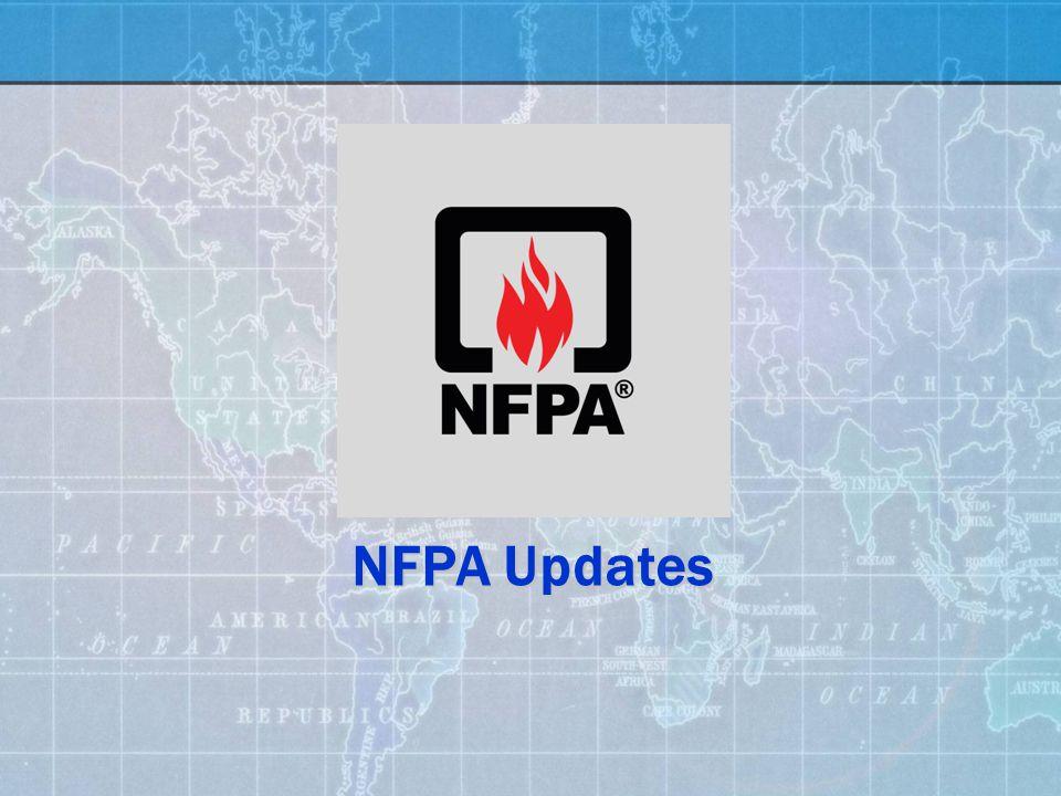 NFPA Updates