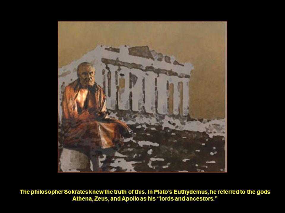 ...Hephaistos, the deified Kain, is the good son.