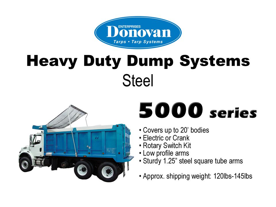 Heavy Duty Dump Systems Pull Style
