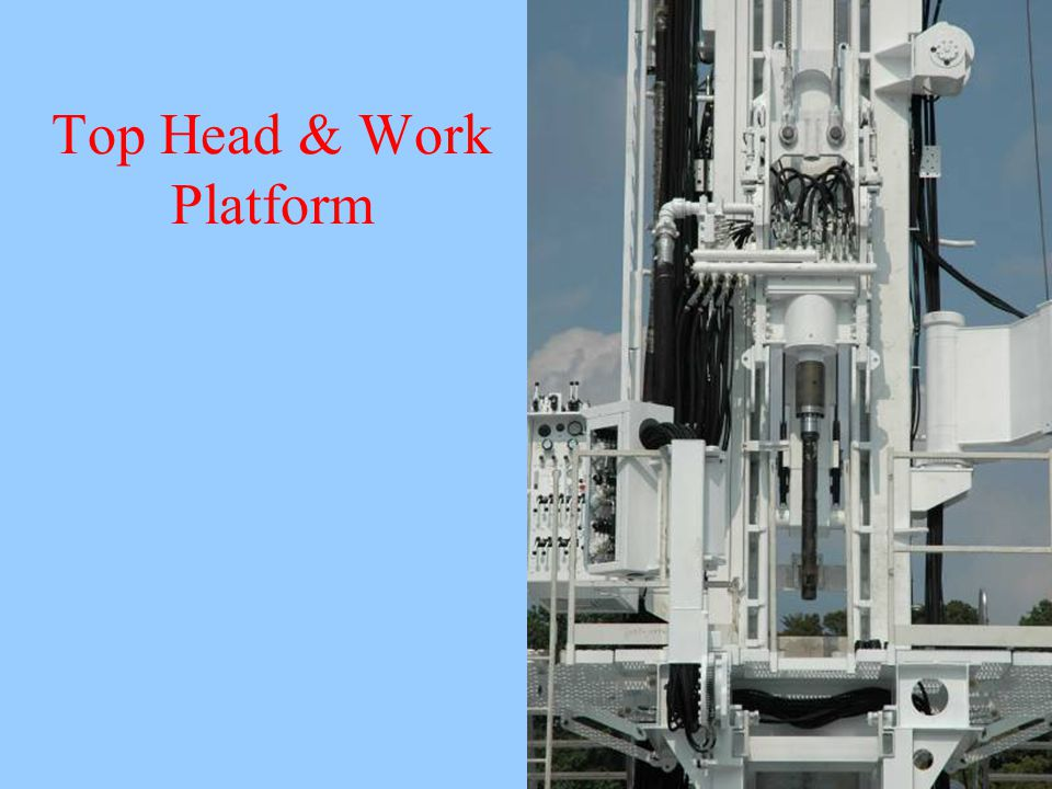 Top Head & Work Platform