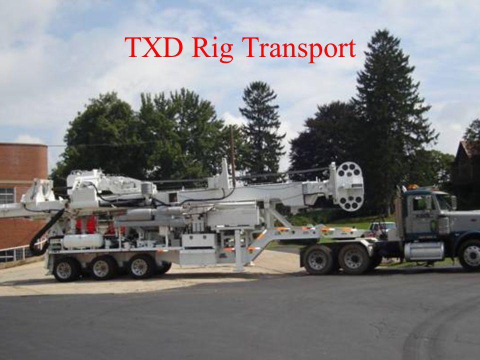 TXD Rig Transport