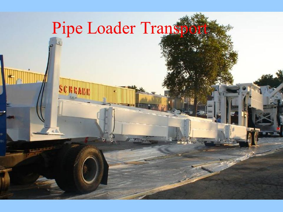 Pipe Loader Transport