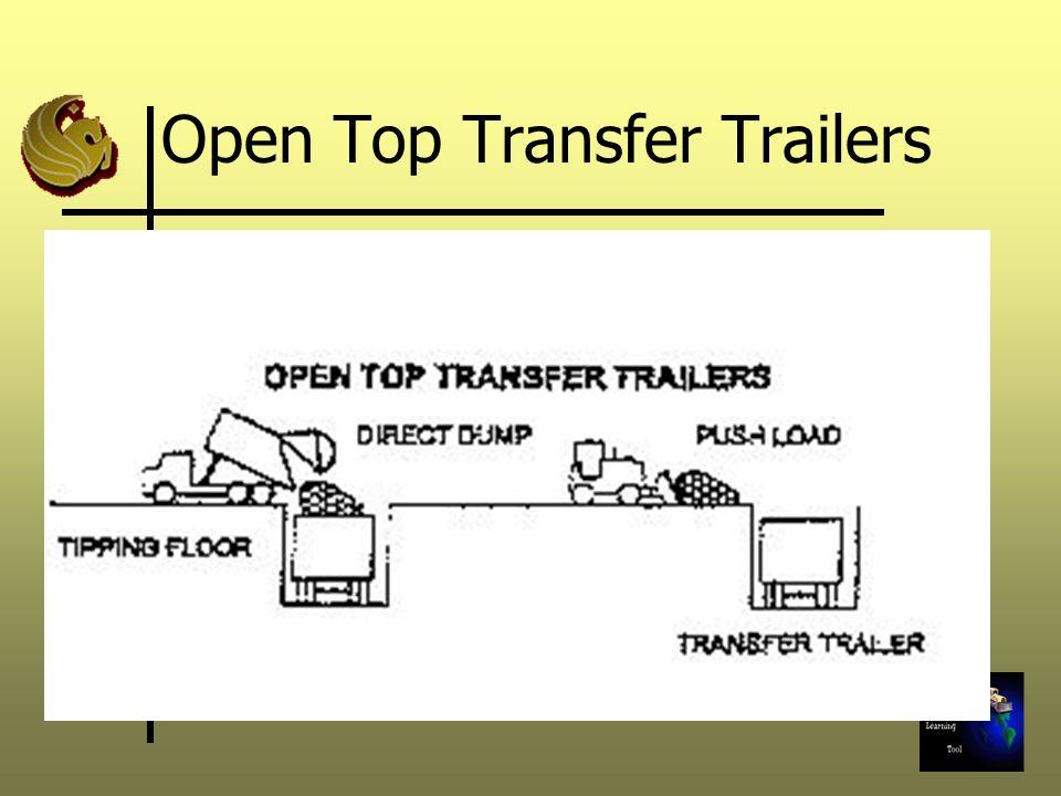 Open Top Transfer Trailers