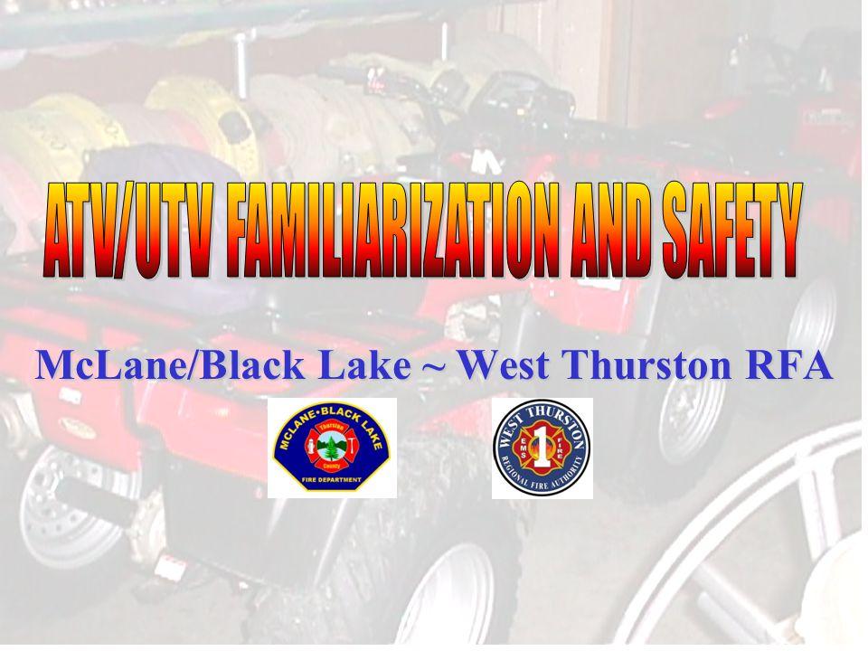 McLane/Black Lake ~ West Thurston RFA