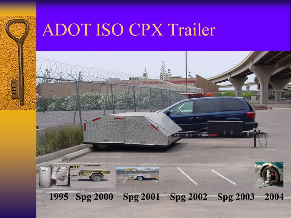 ADOT ISO CPX Trailer 1995 Spg 2000 Spg 2001 Spg 2002 Spg 2003 2004