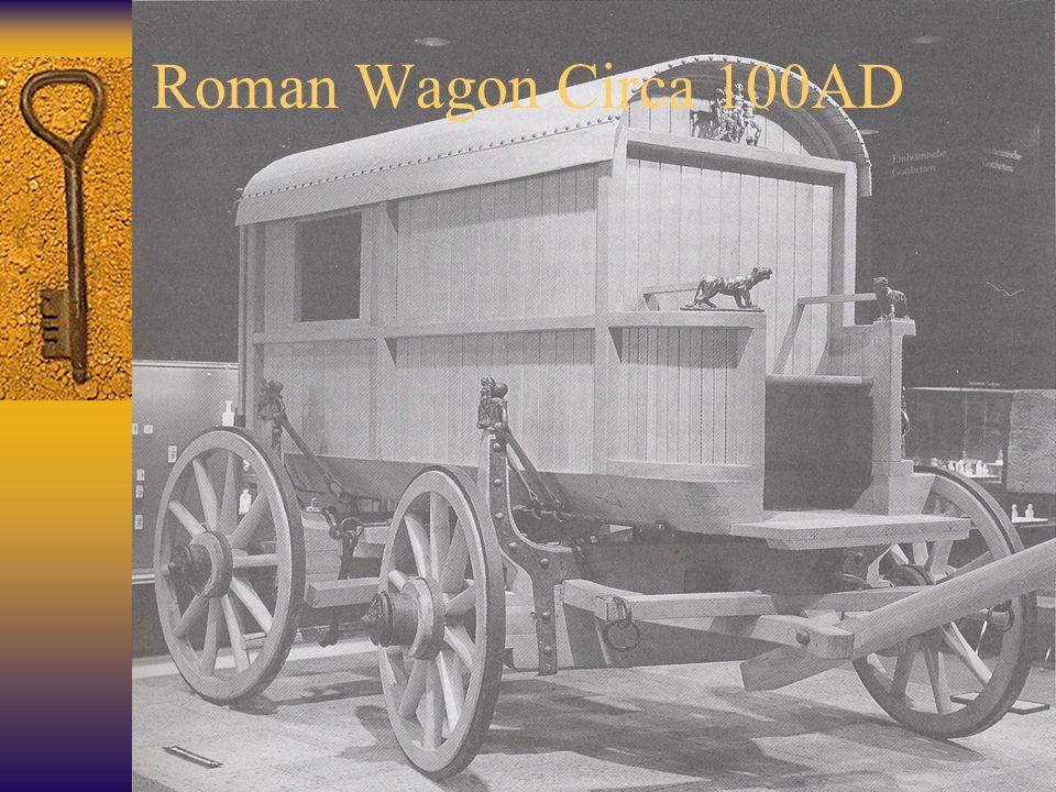 Roman Wagon Circa 100AD