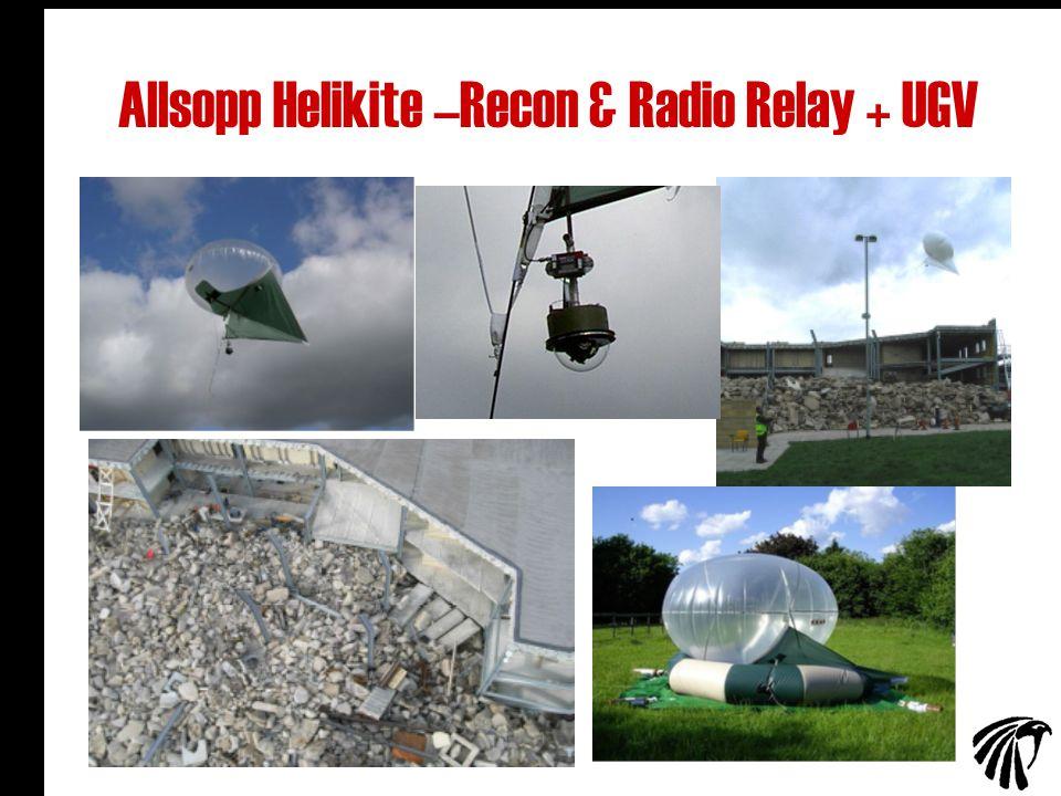 26 Allsopp Helikite –Recon & Radio Relay + UGV