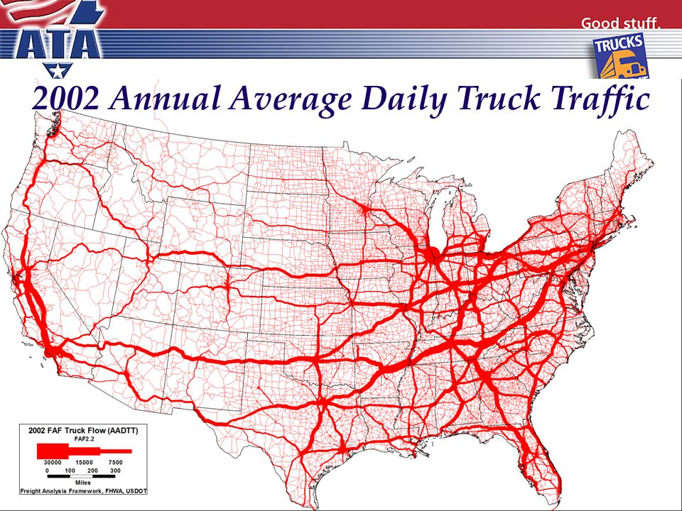 2002 Annual Average Daily Truck Traffic