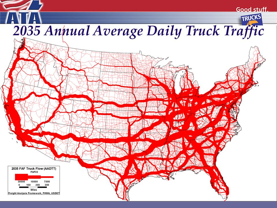 2035 Annual Average Daily Truck Traffic