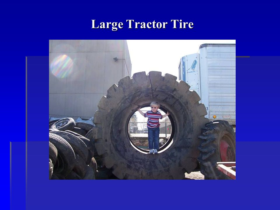 Large Tractor Tire